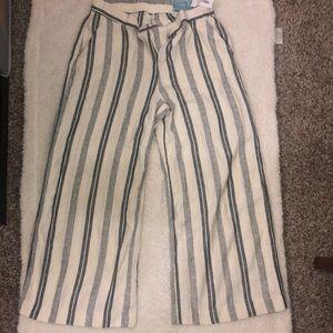 Old Navy stripes BoHo pants